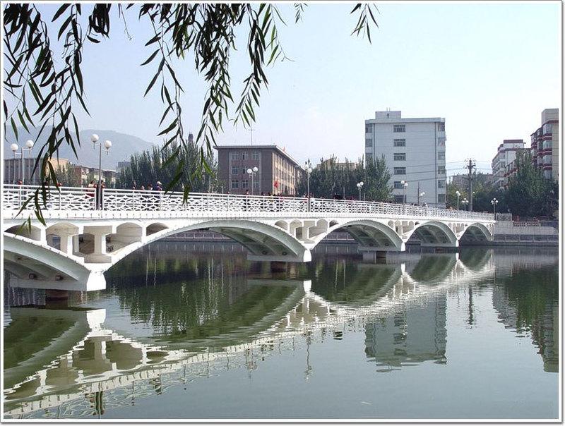 张家口清园桥图片