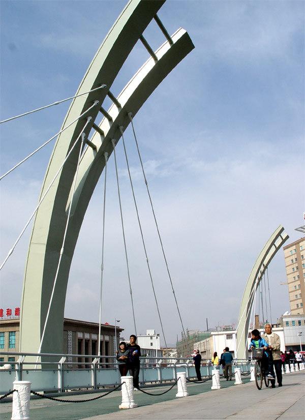 張家口解放橋圖片