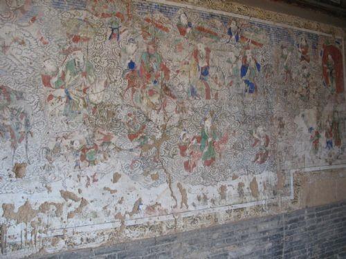 庙中的壁画