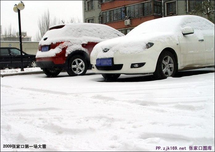 张家口的雪